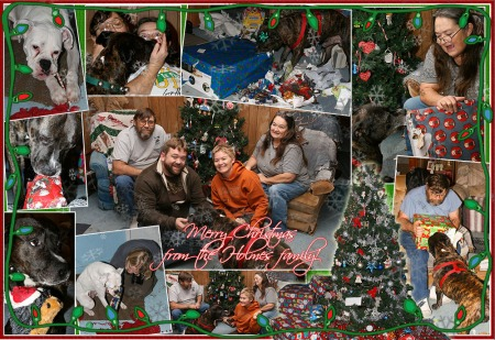 Merry Christmas from the Holmes Family to yours!